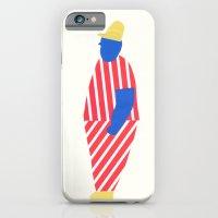 boy with yellow cap iPhone 6 Slim Case