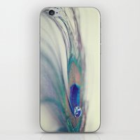 Peacock Drop iPhone & iPod Skin