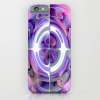 Abstract Morning Glory Fish Eye Collage iPhone 6 Slim Case