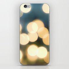 Winter Bokeh  iPhone & iPod Skin