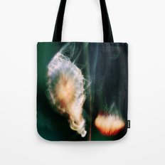 Jellyfish of the Blue-Green Electric Glow Tote Bag