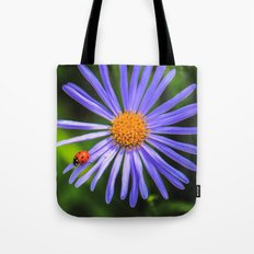 The Runway Of A Ladybird Tote Bag