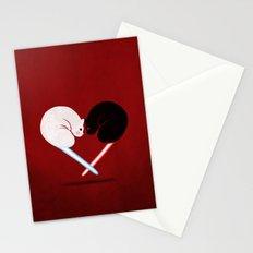 Lightside vs Darkside Stationery Cards