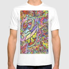 Kreech SMALL White Mens Fitted Tee