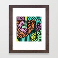 Naive Framed Art Print