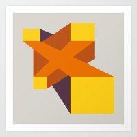 Fuzzy Gestalt 04 Art Print