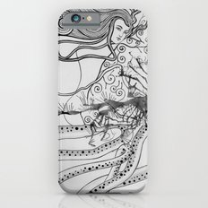 Magic Force / Original A4 Illustration / Pen & Ink iPhone 6 Slim Case