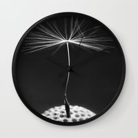 Seed Of A Dandelion Wall Clock