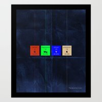 The Elements of Color Art Print