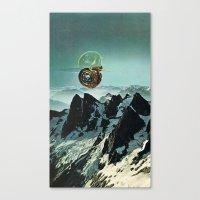 (.) Canvas Print