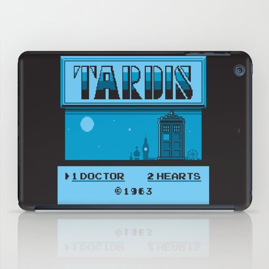 1 Doctor, 2 Hearts iPad Case