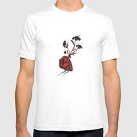 Love Grows Mens Fitted Tee White SMALL