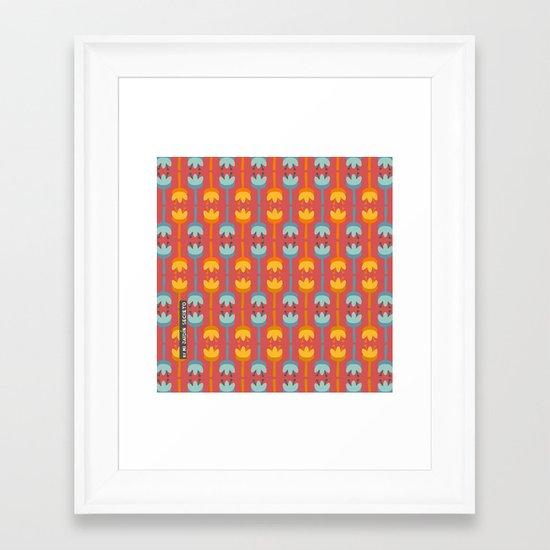 PATTERN 5 Framed Art Print