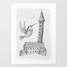 'Tower' Art Print