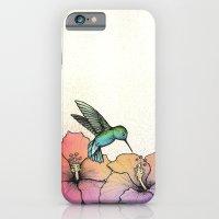 Hummingbird And Hibiscus iPhone 6 Slim Case