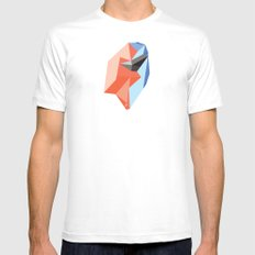 Bound Together SMALL White Mens Fitted Tee