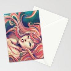 Technicolor Mermaid Stationery Cards