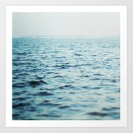 The Blue Channel Art Print