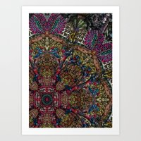 Psychedelic Botanical 9 Art Print