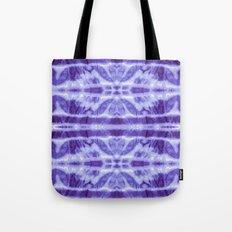 Tie Dye Twos Violet Hues Tote Bag