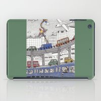 Taking the Red Line iPad Case