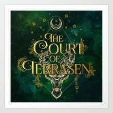 The Court of Terrasen  Art Print