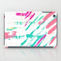 Pastel Lines iPad Case
