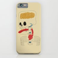 iPhone & iPod Case featuring Square Skull...   by Gianluca Floris