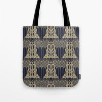 Gatsby Glamour Tote Bag