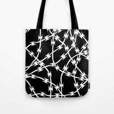Barb Black Tote Bag