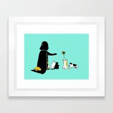 I can haz force Framed Art Print