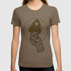 Question Womens Fitted Tee Tri-Coffee SMALL
