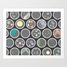 Petri Dish Art Print