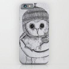 Bobble Hat Owl iPhone 6 Slim Case