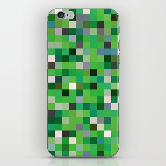 Pixel Painting iPhone & iPod Skin