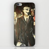 Except Us - Anonymous iPhone & iPod Skin