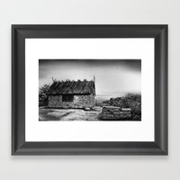 Boathouse Framed Art Print