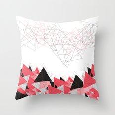 Triangle U185 Throw Pillow
