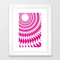 rave up Framed Art Print