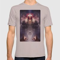 Modern Faith Mens Fitted Tee Cinder SMALL