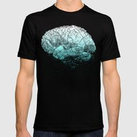 Fading Memories Mens Fitted Tee Black SMALL