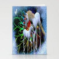 Unicorn Love Stationery Cards