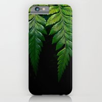 iPhone & iPod Case featuring Hanging Fern by Derek Fleener