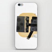 Happy Robot Happy Cat iPhone & iPod Skin