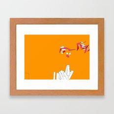 Fragmentation 1 Framed Art Print