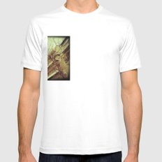 Dog and Beauty White Mens Fitted Tee SMALL