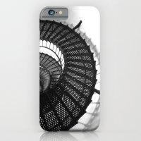 iPhone & iPod Case featuring Spiral Stairs by Jillian Schipper