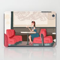 Sipping Green Tea At The… iPad Case