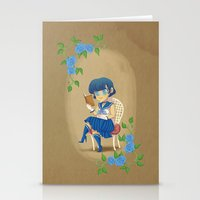 Retro Sailor Mercury Stationery Cards