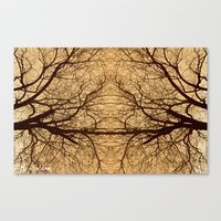 Branches x2 Canvas Print